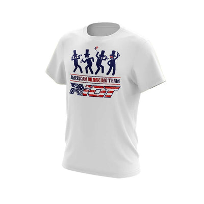 **New** Shirt of the Week - USA or Canadian Drinking Team Riot Logo - Choose your shirt style