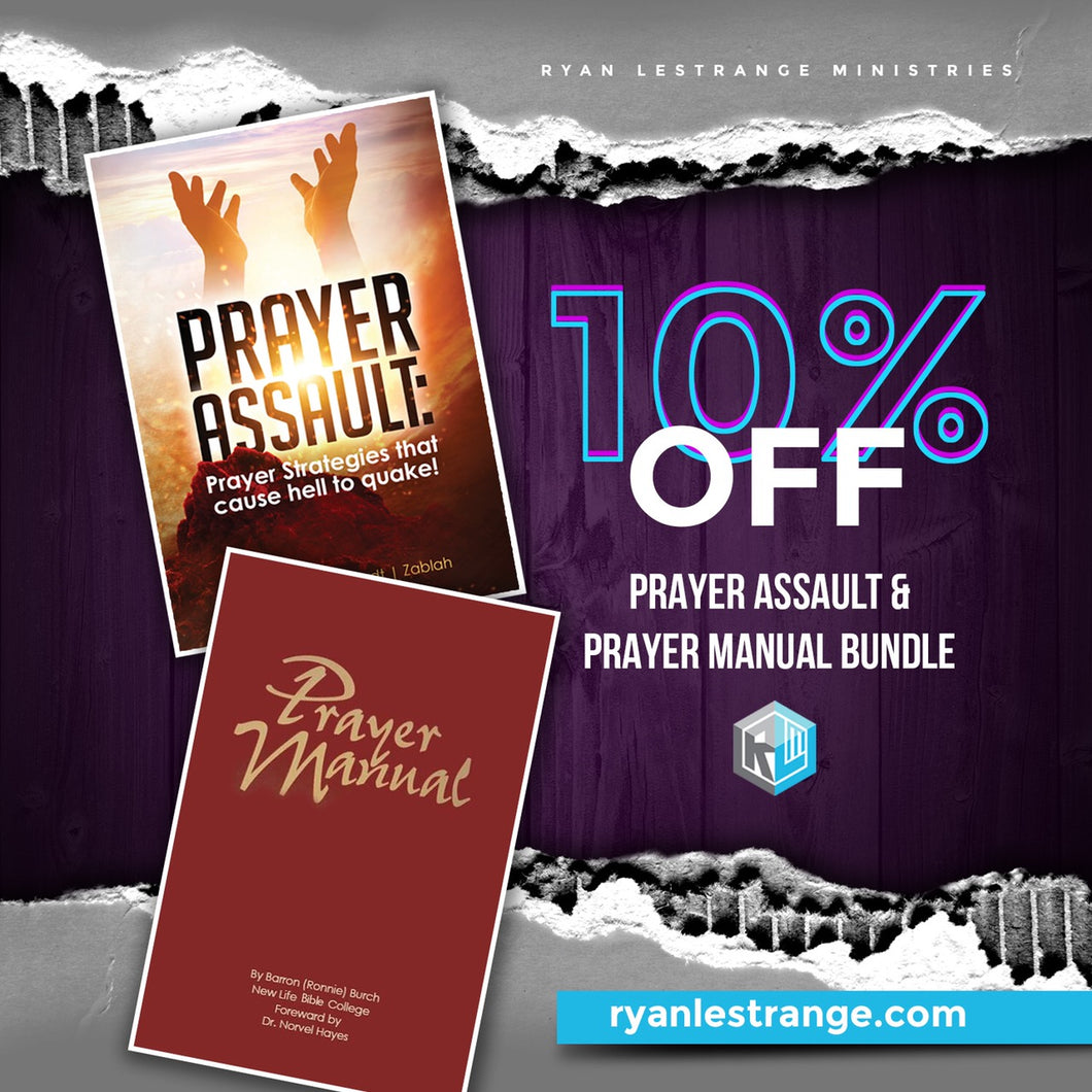 Prayer Assault and Prayer Manual Bundle