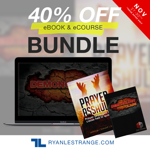 RLM Cyber Weekend Prayer Assault ebook/Demonology ecourse Bundle