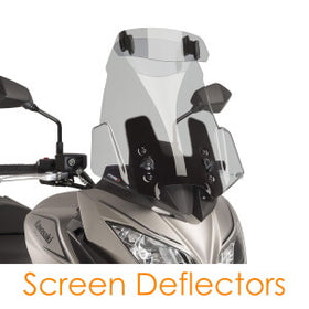 Universal screen deflectors