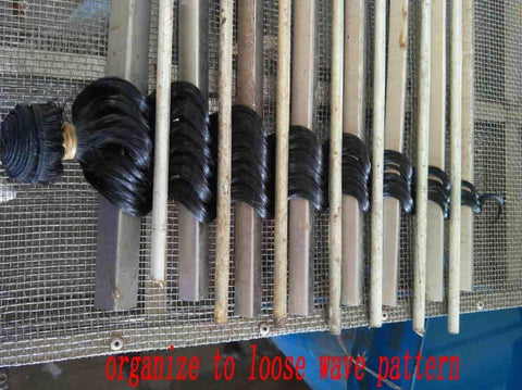 loose wave pattern organization
