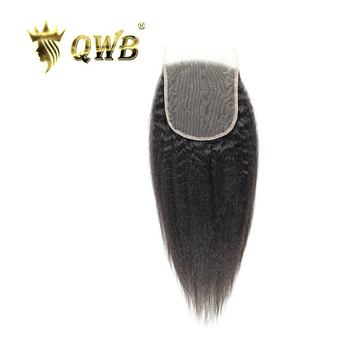 kinky straight 5*5 lace closure