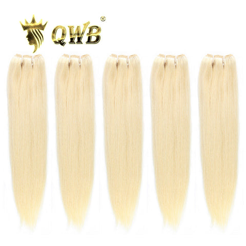 5 bundle 613 straight hair
