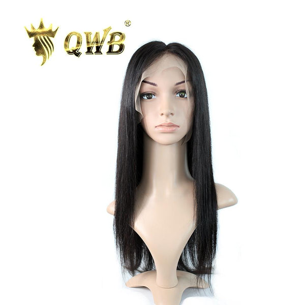 Free Shipping 13x5 Inch Deep Part Straight Transparent Lace Front Wig