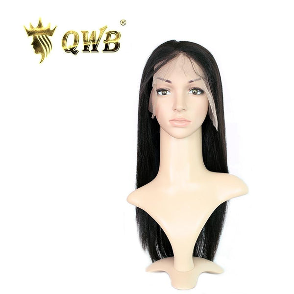 Free Shipping 13x5 Inch Deep Part Light Yaki Transparent Lace Front Wig