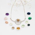 Charger l'image dans la galerie, Choose Your Stone : Aya necklace  (made to order)