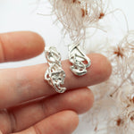 Load image into Gallery viewer, Keira earring #2 ~ silver ~ unique (ready-to-ship)