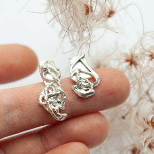 Keira earring #2 ~ silver ~ unique (ready-to-ship)