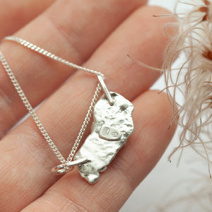 Keira pendant #1 ~ silver ~ unique (ready-to-ship)