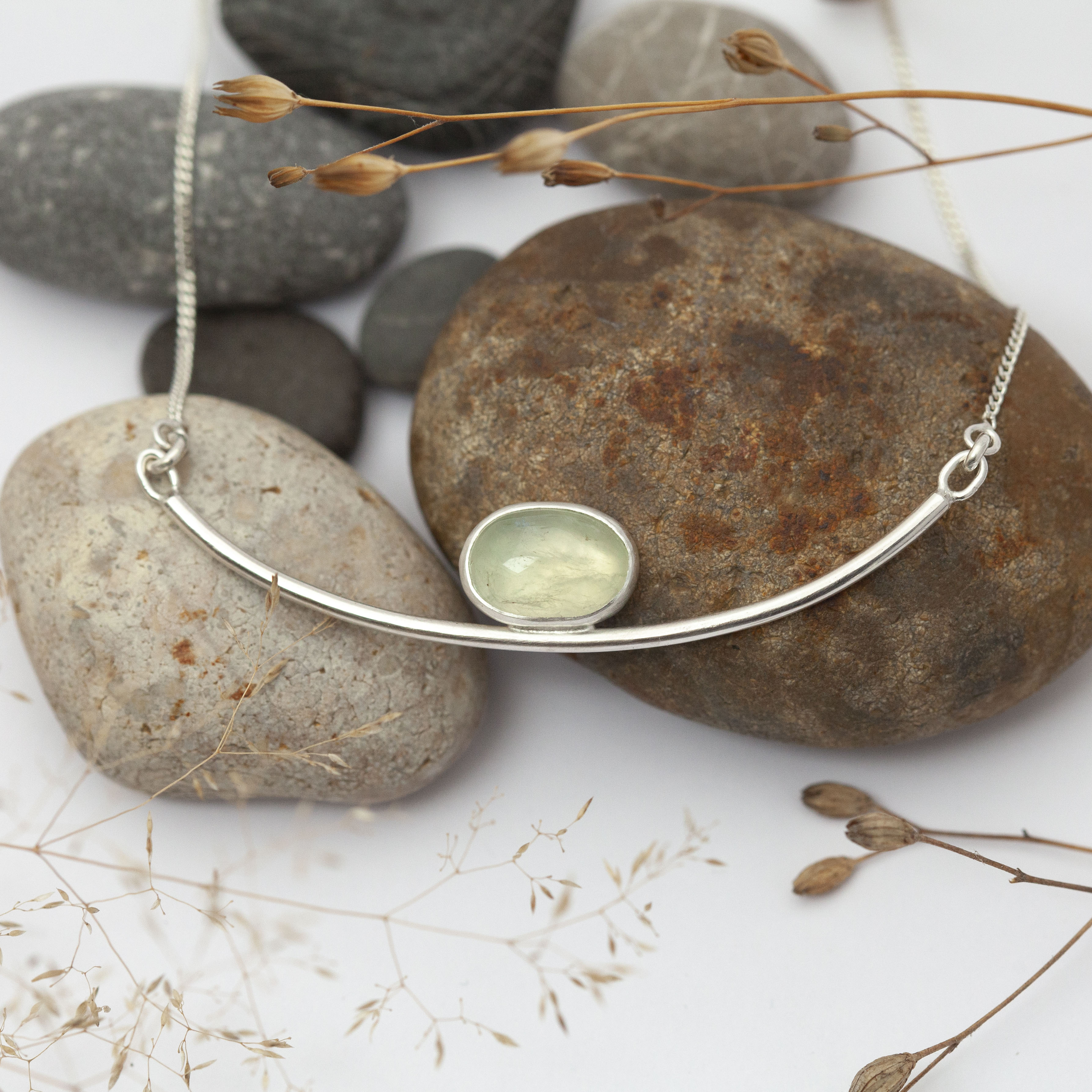 Choose Your Stone : Oona necklace   (made to order)