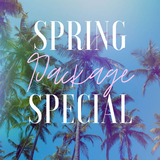 Spring Package Specials