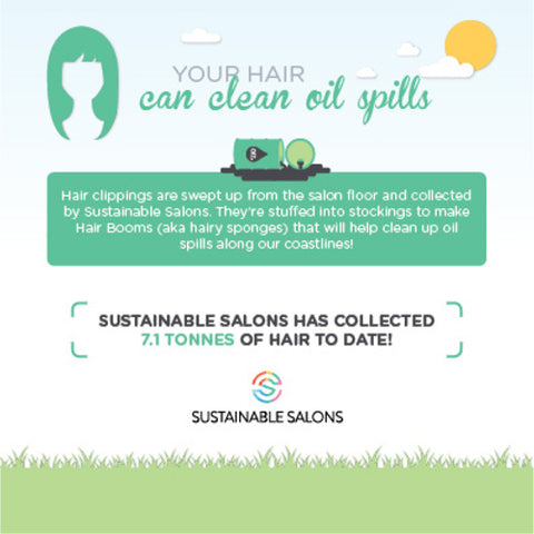Local Colour Hair Studio Sustainable Salons Recycled Hair Pictogram