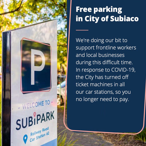 Parking in Subiaco