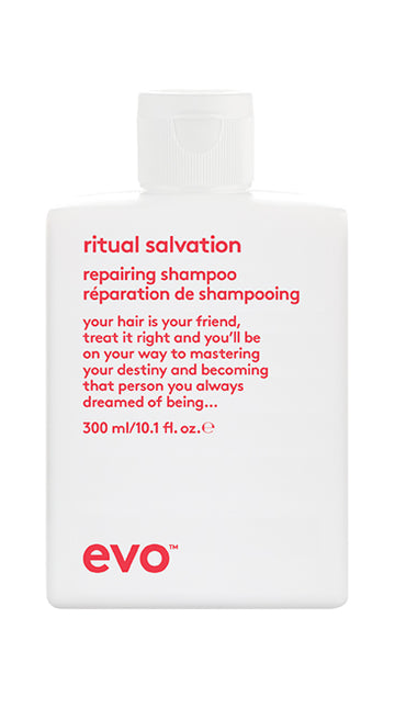EVO Ritual Salvation Repairing Shampoo 300 milliliter bottle