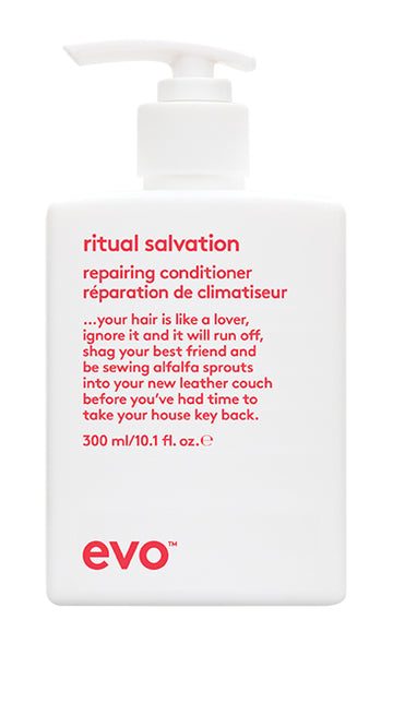 EVO Ritual Salvation Repairing Conditioner 300 milliliter bottle