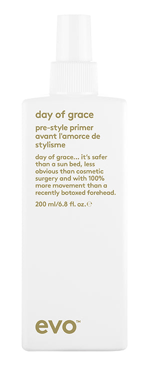 EVO Day of Grace Pre-Style Primer 200 milliliter bottle