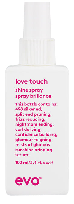EVO Love Touch Shine Spray 100 milliliter bottle