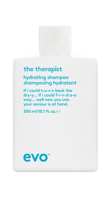 EVO The Therapist Hydrating Shampoo 300 milliliter bottle
