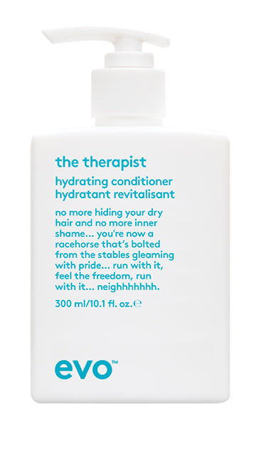 EVO The Therapist Hydrating Conditioner 300 milliliter bottle