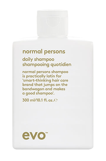 EVO Normal Persons Daily Shampoo 300 milliliter bottle