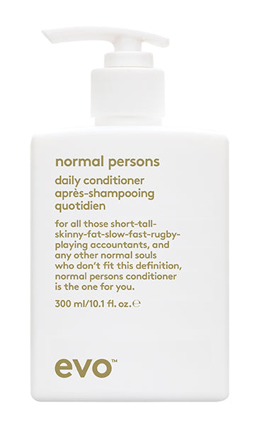 EVO Normal Persons Daily Conditioner 300 milliliter bottle