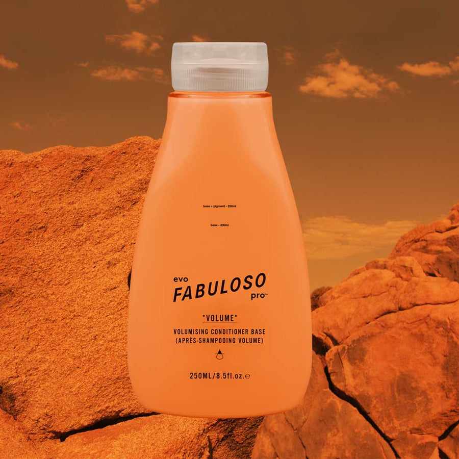 Evo Fabuloso Pro Colour Conditioner orange 250ml bottle