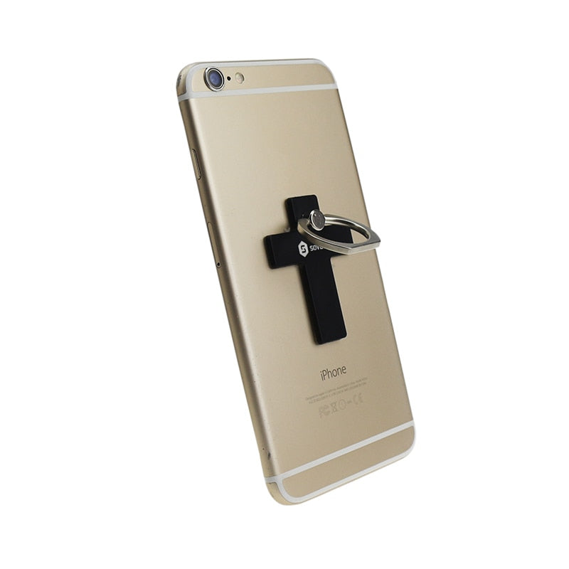 best loved caaa2 07227 Cross Universal Stand Cell Phone Finger Ring Grip Holder