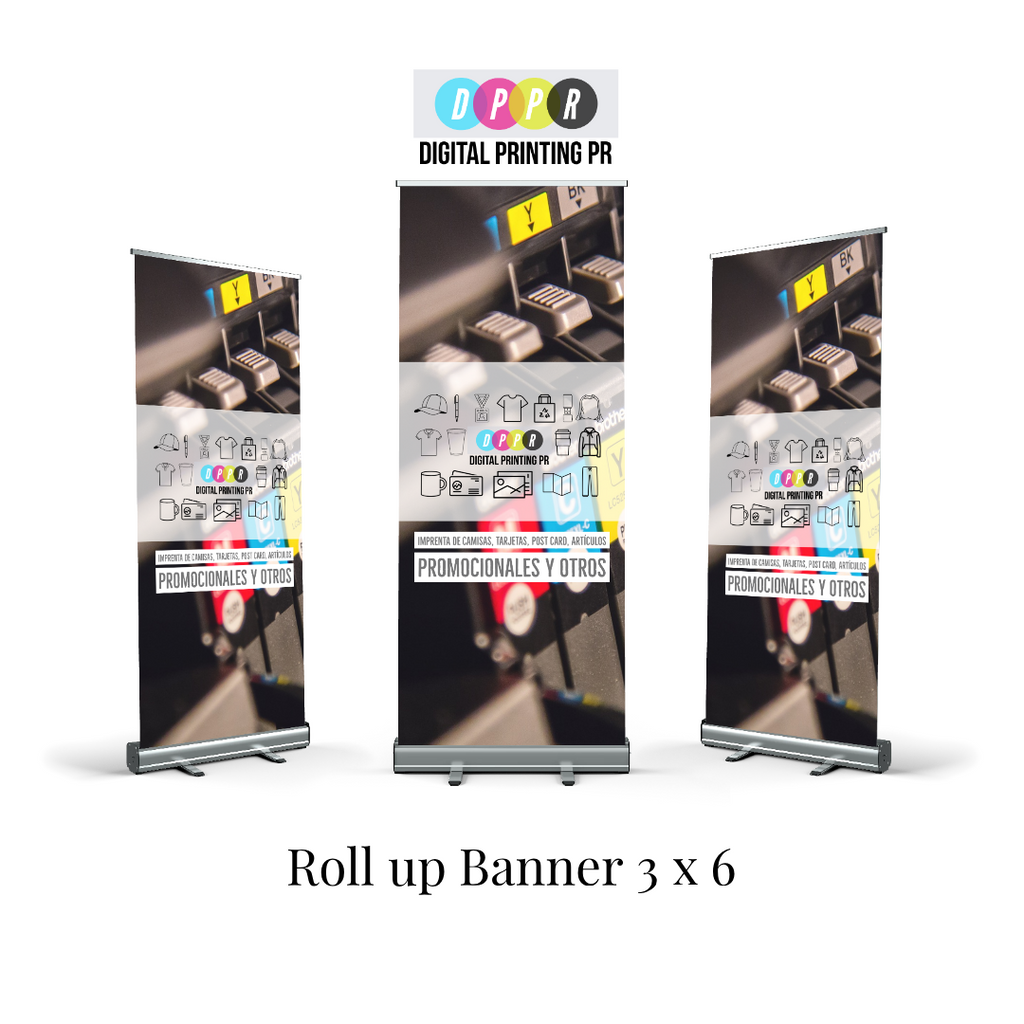 roll up banner imprenta en barceloneta