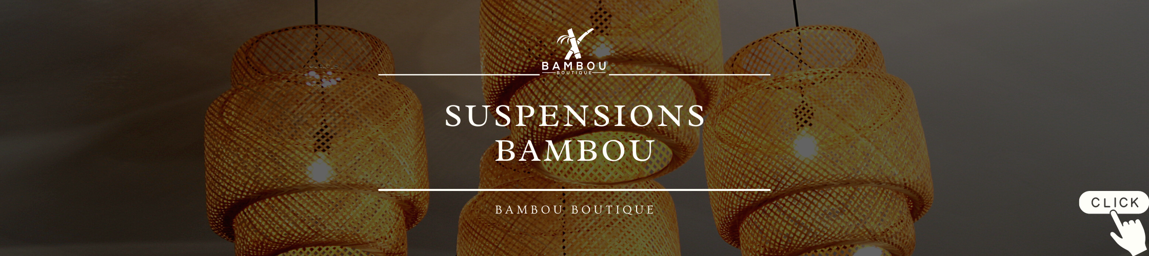 Suspensions bambou