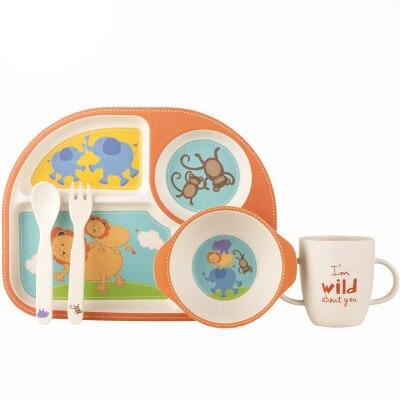 Assiette Set Orange | Bambou Boutique