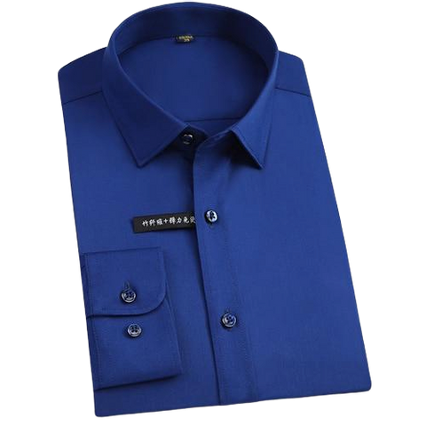 Chemise Bambou<br> Homme Bleu Marine - Bambou Boutique