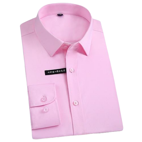 Chemise Bambou<br> Homme Rose - Bambou Boutique