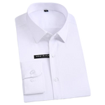 Chemise Bambou<br> Homme Blanc - Bambou Boutique