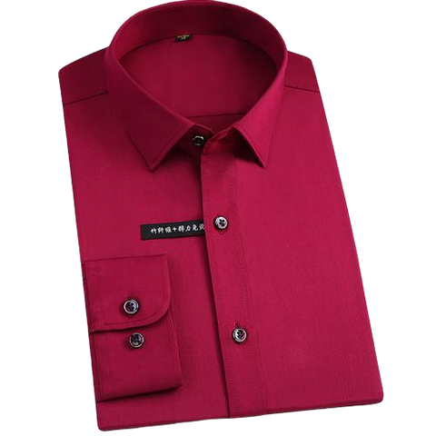 Chemise Bambou<br> Homme Rouge - Bambou Boutique