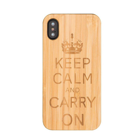 Coque Iphone Keep Calm | Bambou Boutique