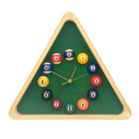 Horloge Billard | Bambou Boutique