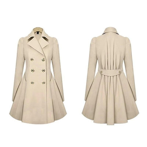 Manteau Bambou<br> Trench Coat - Bambou Boutique