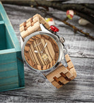 Montre Bambou<br> Masculin Nature - Bambou Boutique