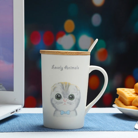 Mug Bambou<br> Chat - Bambou Boutique