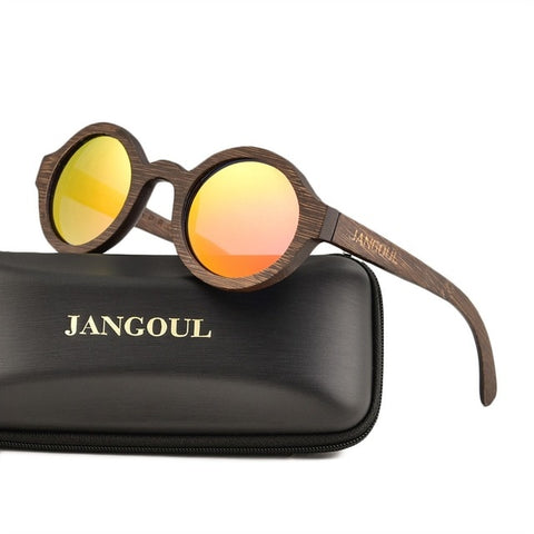 Lunettes Bambou<br> Homme Rouge - Bambou Boutique