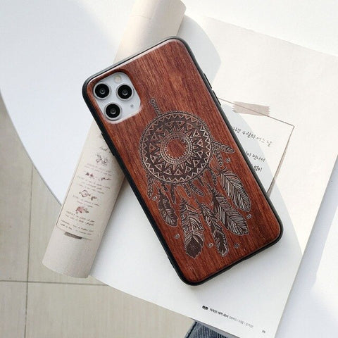 Coque Samsung Bambou<br> Plumes Indien - Bambou Boutique