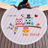 Serviette Plage I Love You | Bambou Boutique