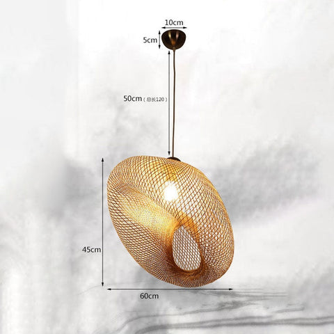 Suspension Bambou<br> Design Luxe - Bambou Boutique