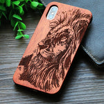 Coque Iphone Bambou<br> Roi Lion - Bambou Boutique
