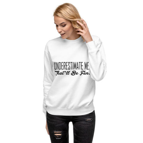 Pull Underestimate Femme | Bambou Boutique