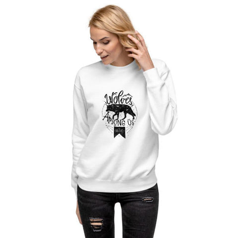 Pull Wolves Femme | Bambou Boutique