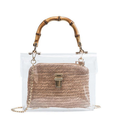 Sac Bambou<br> Transparent - Bambou Boutique