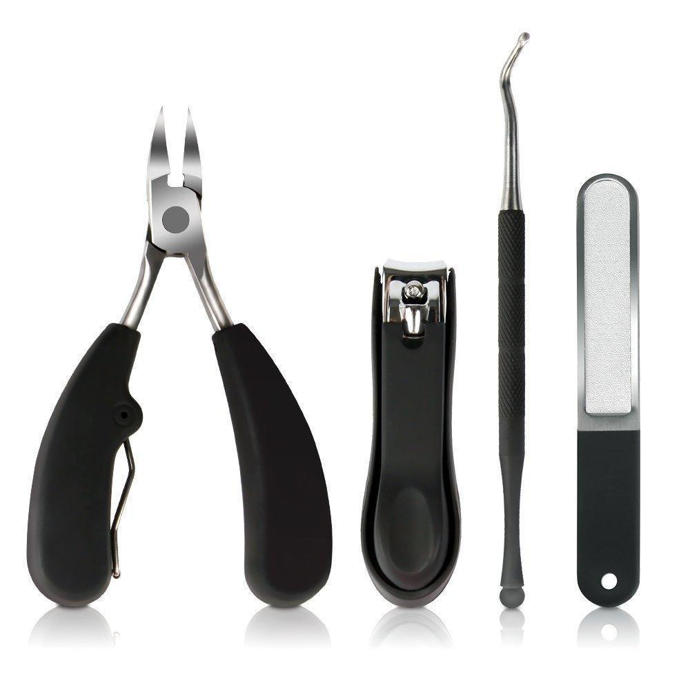 50%OFF - Precision Toenail Clippers for Thick or Ingrown Toenails, Sharp Stainless Steel Nail Cutter, Best Nail Clipper & Pedicure Tool for Seniors