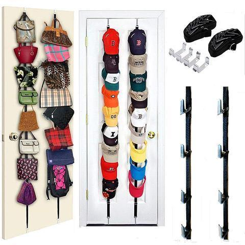 Limited time 60% off - Door Racks, Organize your entire bag & hat collection in multiple rooms