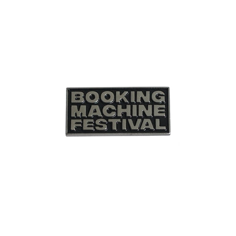 Пин Booking Machine: BM Festival